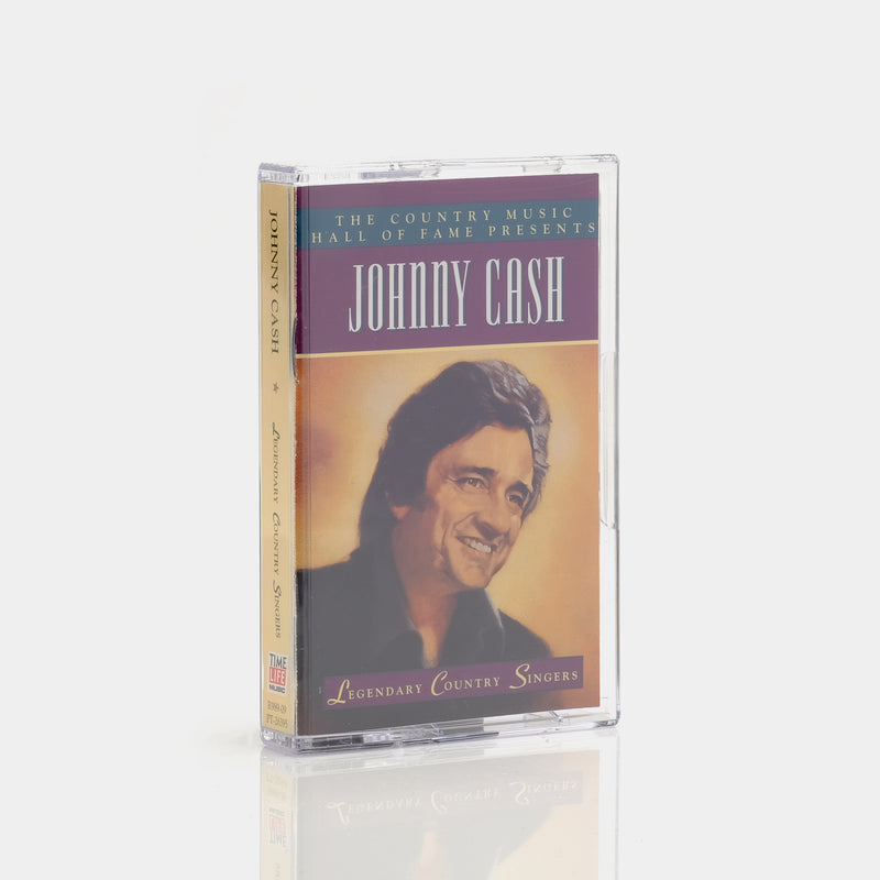 Johnny Cash - The Country Music Hall Of Fame Presents Johnny Cash (1995) Cassette Tape