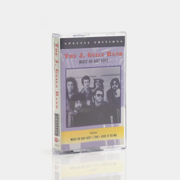 The J. Geils Band - Must Of Got Lost (1995) Cassette Tape
