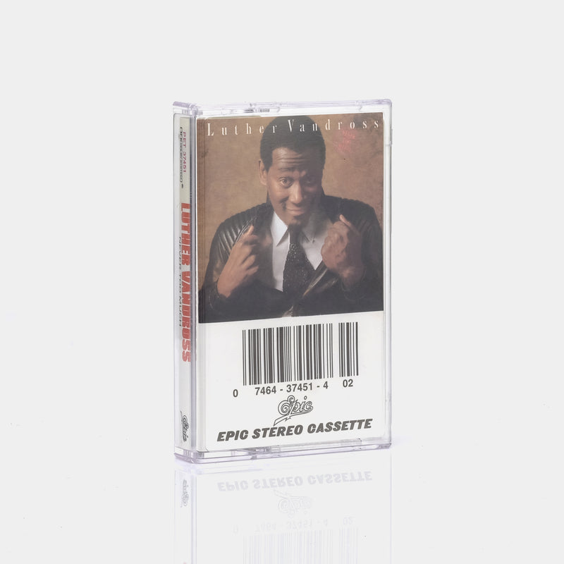 Luther Vandross - Never Too Much (1981) Cassette Tape