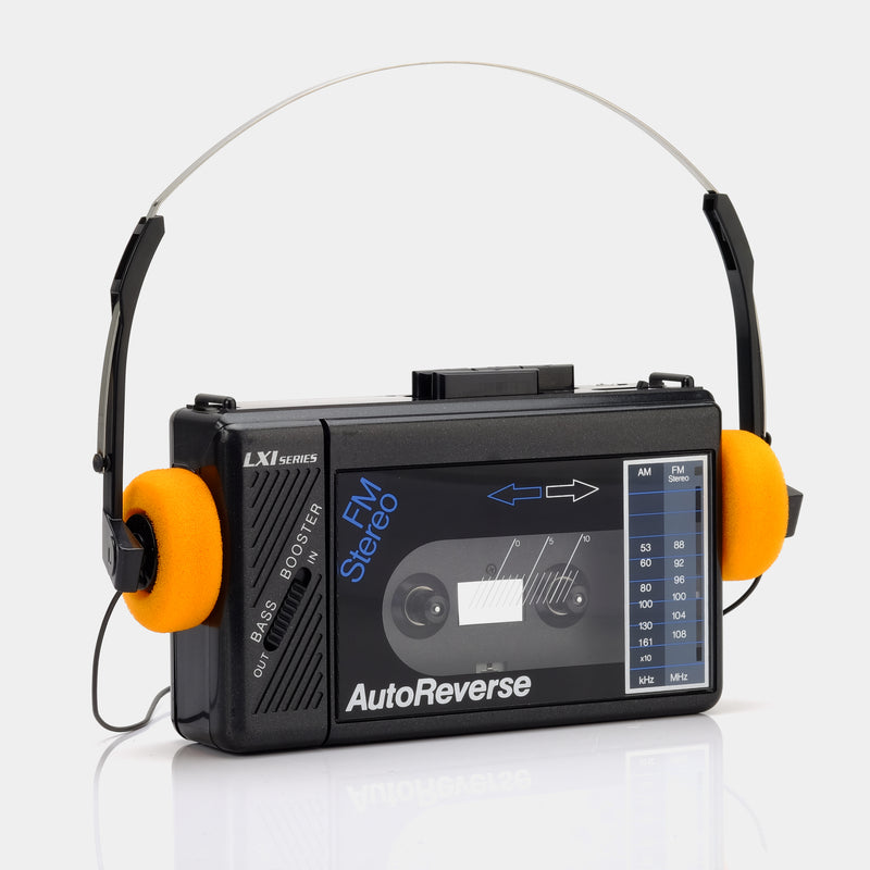 LXI Autoreverse Portable Cassette Player