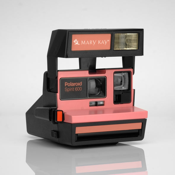 Refurbished Polaroid 600 Camera - Mary Kay