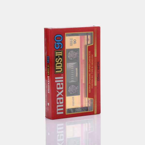 Maxell UDS-2  Blank Type II Recordable Cassette Tape