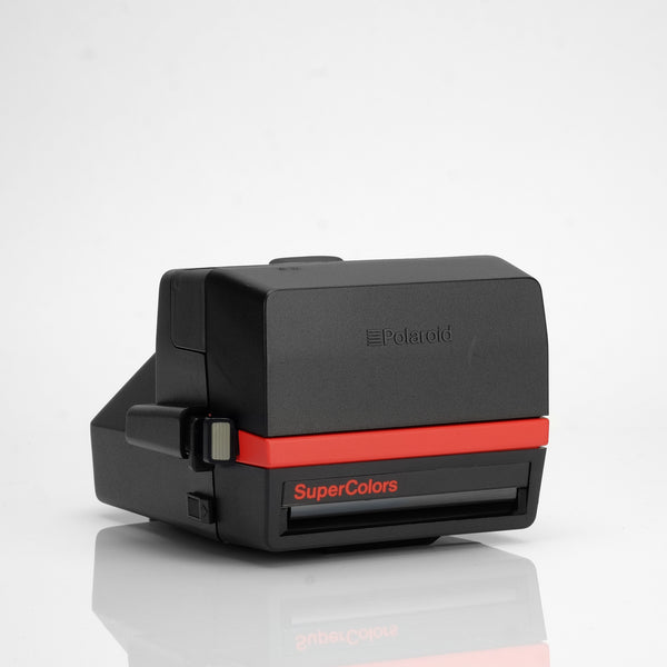 Polaroid Supercolors Red 600 Camera
