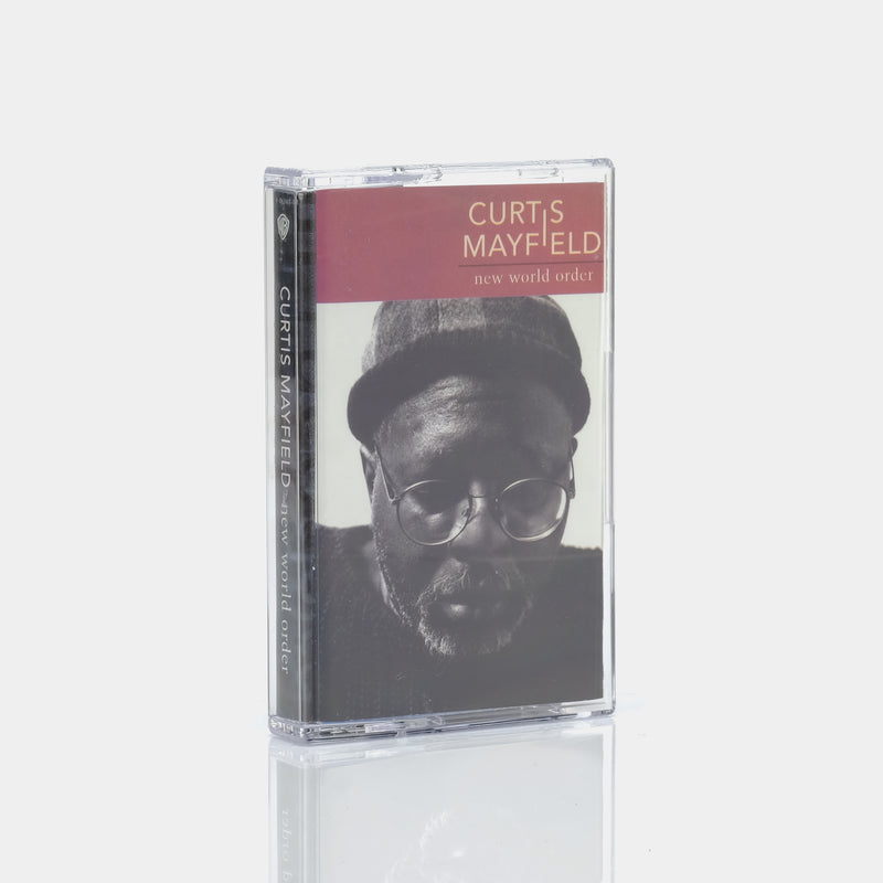 Curtis Mayfield - New World Order (1996) Cassette Tape