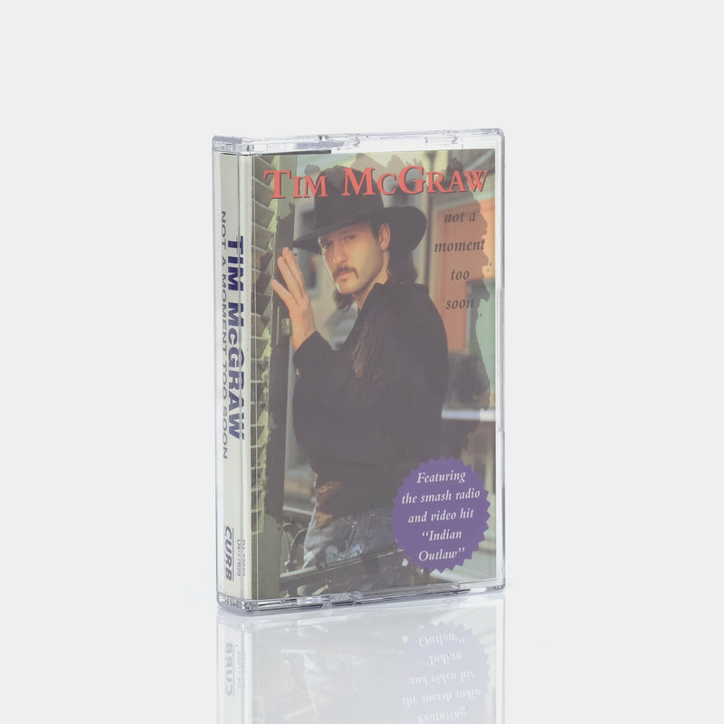 Tim McGraw - Not A Moment Too Soon (1994) Cassette Tape