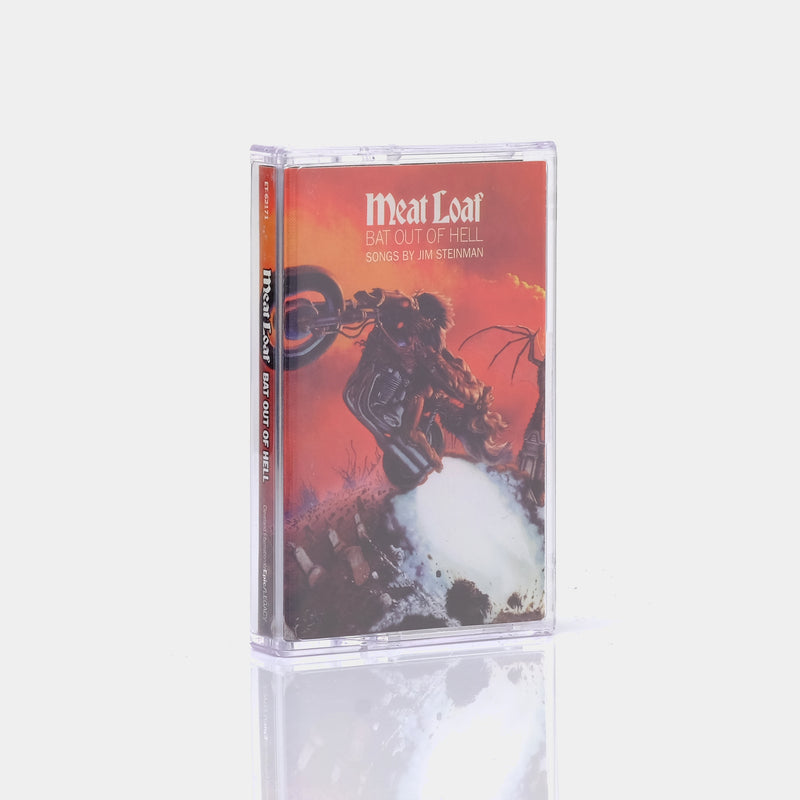 Meat Loaf - Bat Out Of Hell (1977) Cassette Tape