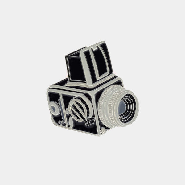 Medium Format Camera Enamel Pin