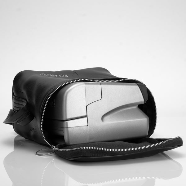 Polaroid Black Vinyl Instant Camera Bag