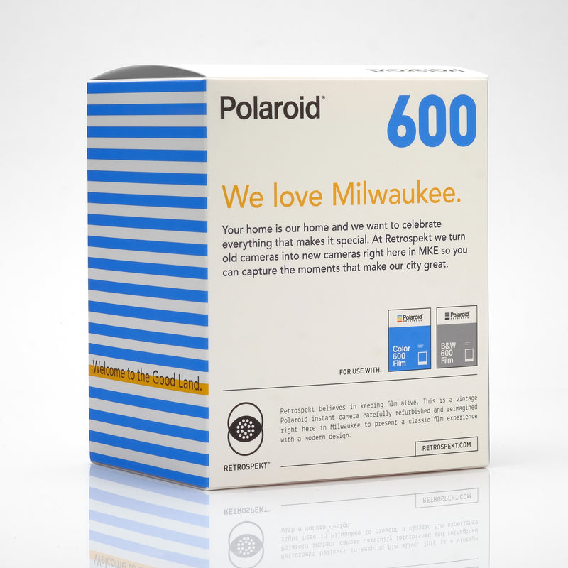 Polaroid Milwaukee Flag 600 Camera