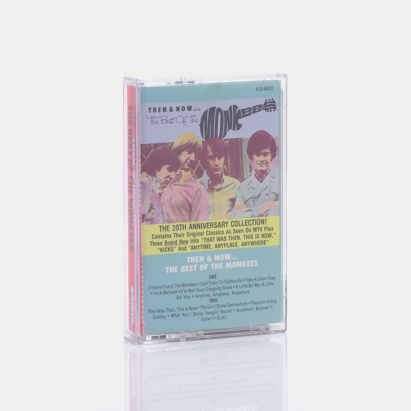 The Monkees - Then & Now... The Best Of The Monkees (1986) Cassette Tape
