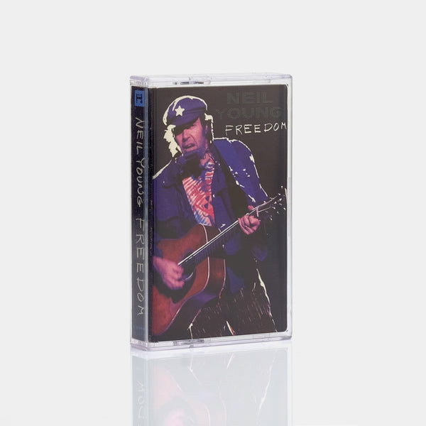 Neil Young - Freedom (1989) Cassette Tape