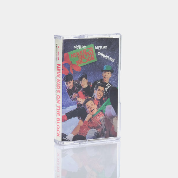 New Kids On The Block - Merry, Merry Christmas (1989) Cassette Tape