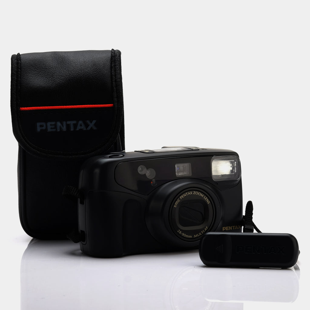 Pentax IQZoom 928 35mm Film Camera