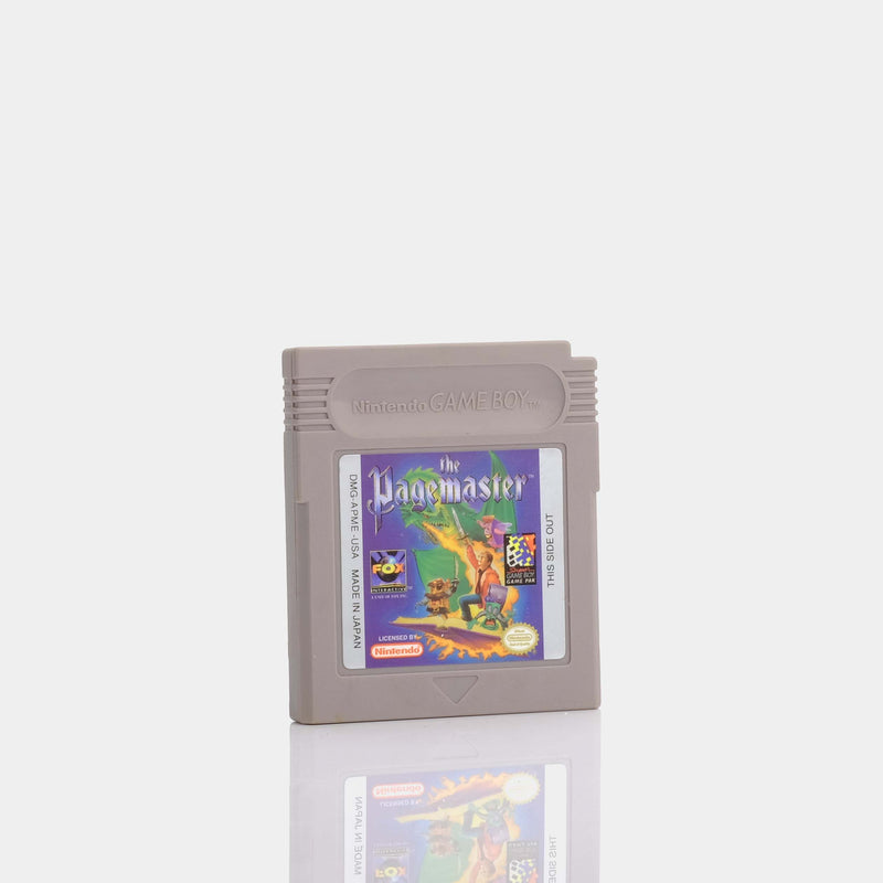 The Pagemaster (1994) Game Boy Game