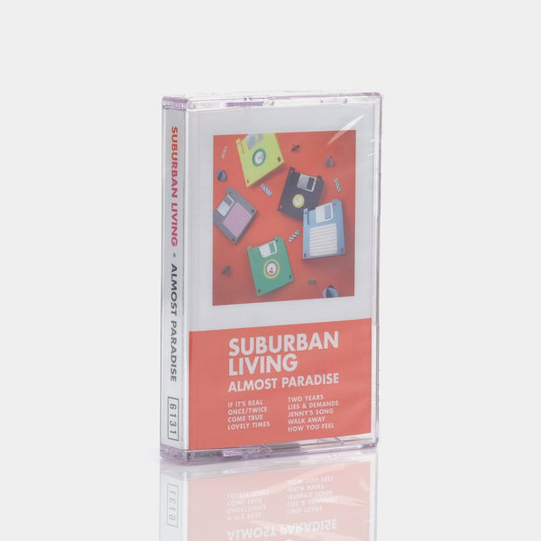 Suburban Living - Almost Paradise (2016) Cassette Tape