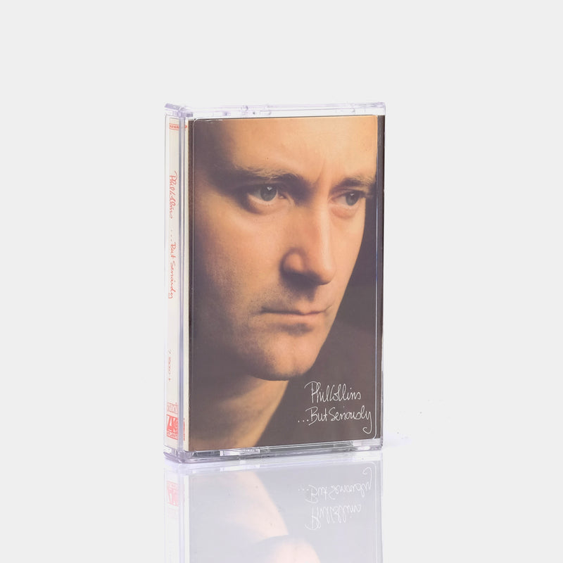 Phil Collins - ...But Seriously (1989) Cassette Tape