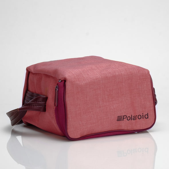 Polaroid Canvas Bag - Pink