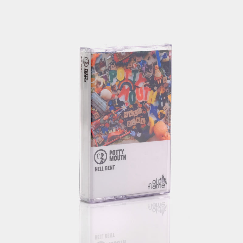 Potty Mouth - Hell Bent (2013) Cassette Tape