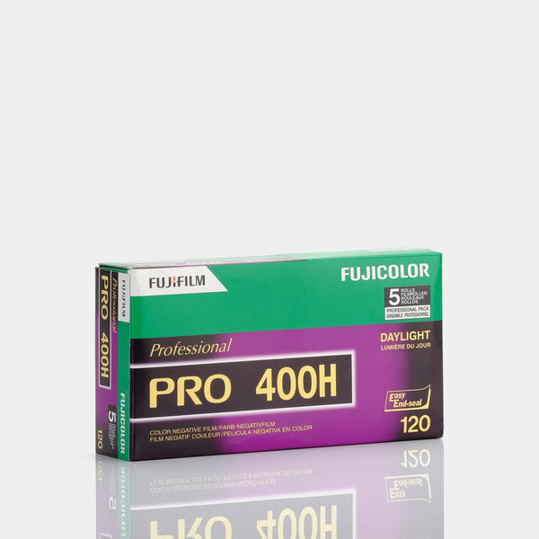 Fujifilm Pro 400H Color 120 Film - 5 pack