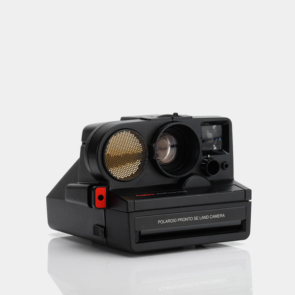 Polaroid Pronto SE SX-70 Camera with Flashbar
