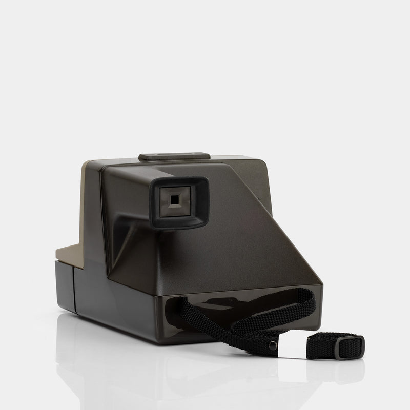 Polaroid Pronto S Tan SX-70 Camera with Flashbar