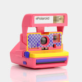 Polaroid Pink Checkers 600 Camera