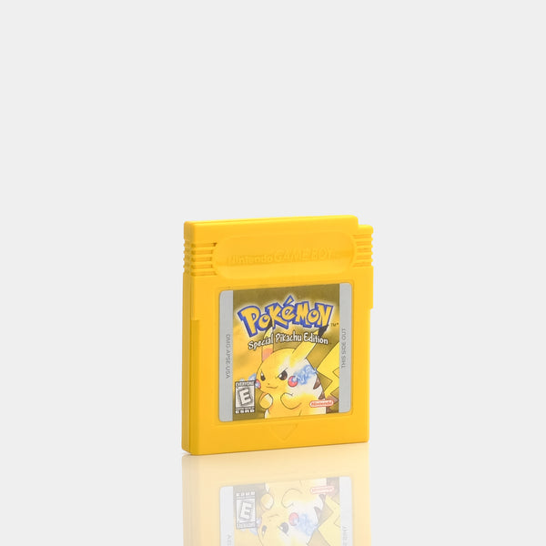 Pokemon Yellow Game Boy Game