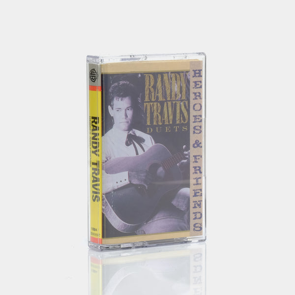 Randy Travis - Heroes And Friends (1990) Cassette Tape