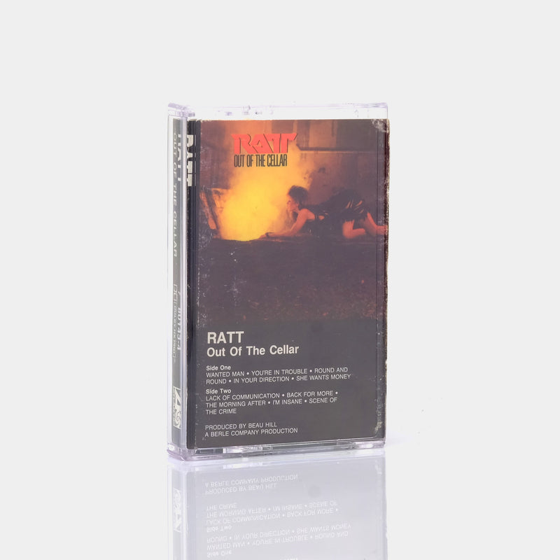 Ratt - Out Of The Cellar (1984) Cassette Tape