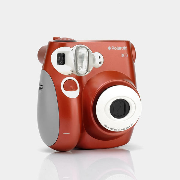 Polaroid 300 Red Instax Mini Instant Film Camera