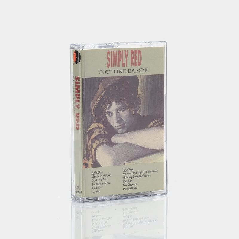 Simply Red - Picture Book (1985) Cassette Tape