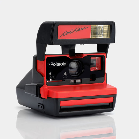 Polaroid 600 Camera - Red Cool Cam