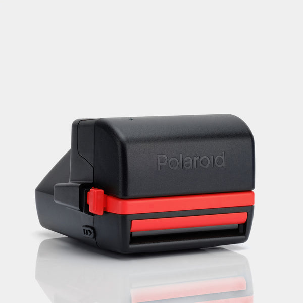 Polaroid Red 1990s Cool Cam 600 Camera