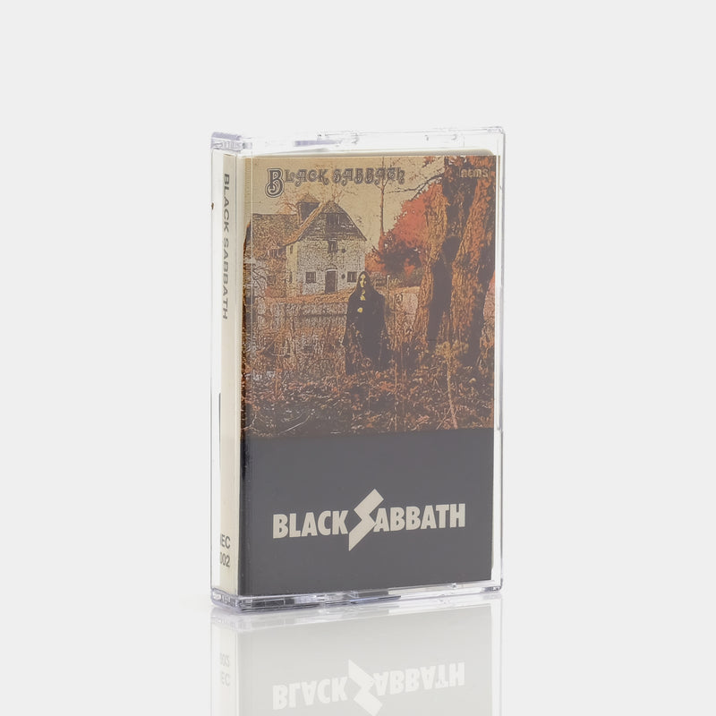 Black Sabbath - Black Sabbath (1970) Cassette Tape