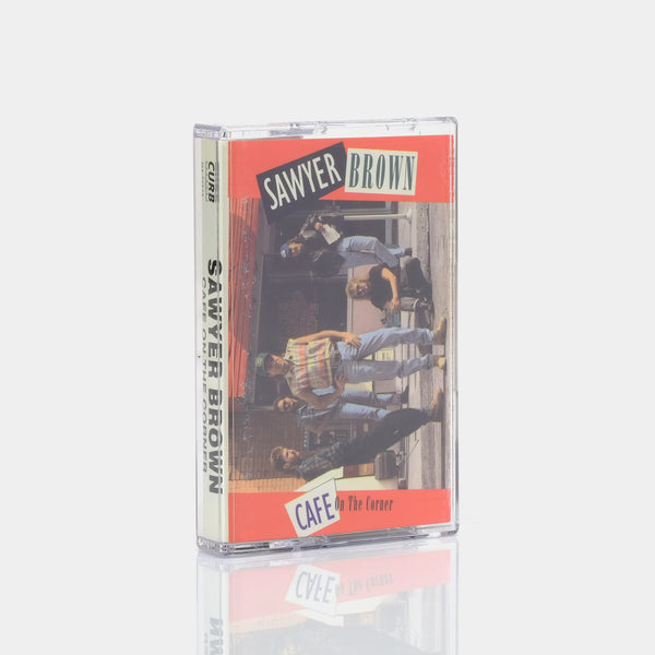 Sawyer Brown - Cafe On The Corner (1992) Cassette Tape