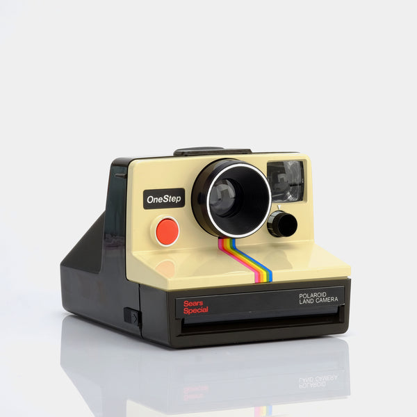 Polaroid SX-70 Sears Special One Step Instant Film Camera with Flashbar