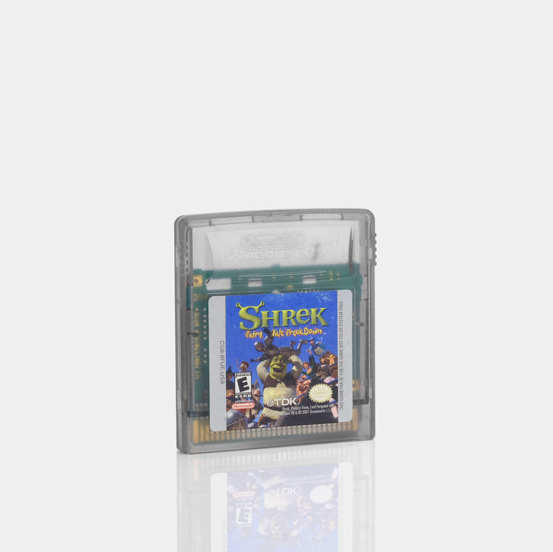 Shrek: Fairy Tale Freakdown (2001) Game Boy Color Game