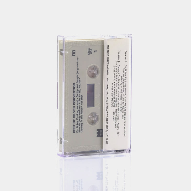 Silver Convention - The Best Of Silver Convention (1978) Cassette Tape