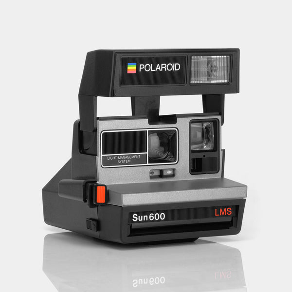 Polaroid 600 Sun600 LMS Silver and Black Instant Film Camera