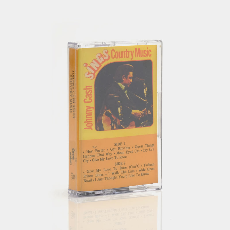Johnny Cash - Johnny Cash Sings Country Music Cassette Tape