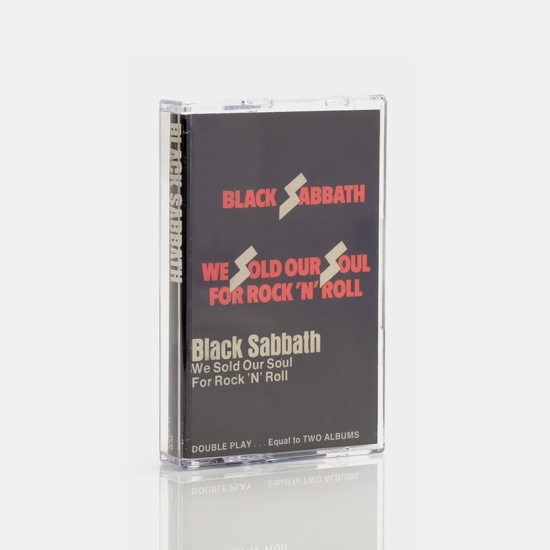 Black Sabbath - We Sold Our Soul For Rock N' Roll (1975) Cassette Tape