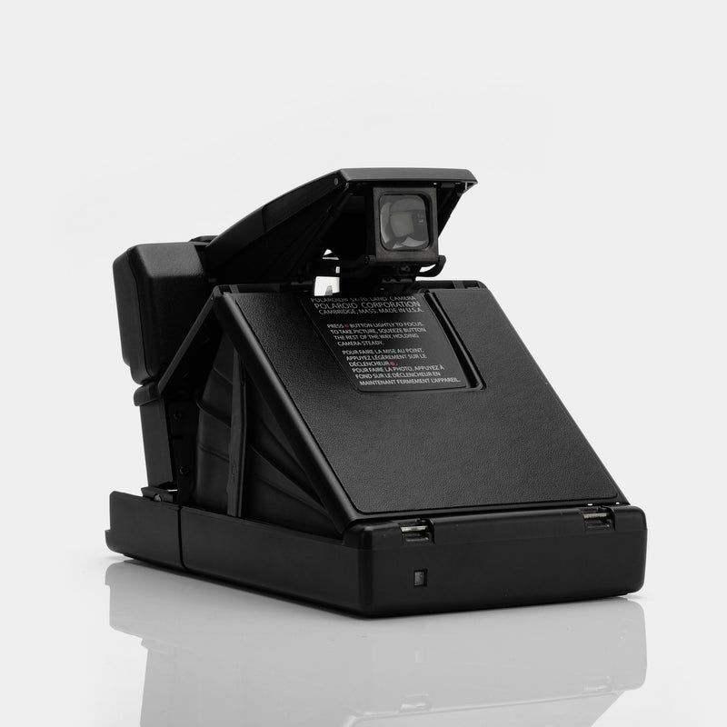 Polaroid SX-70 Camera - Black Sonar Autofocus