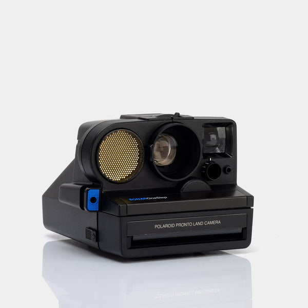 Polaroid Sonar One Step SX-70 Camera with Flashbar