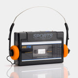Sound Design Sports 4369BLK AM/FM Portable Cassette Player