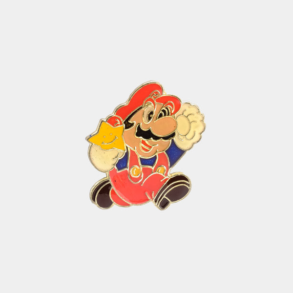 Mario All Star 1988 Vintage Enamel Pin