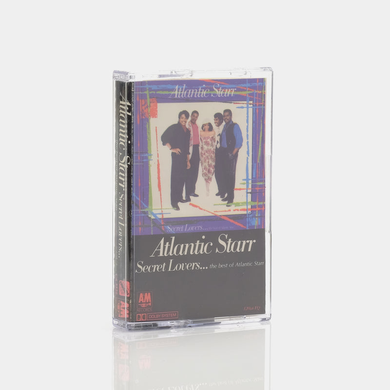 Atlantic Starr - Secret Lovers...The Best Of Atlantic Starr (1986) Cassette Tape