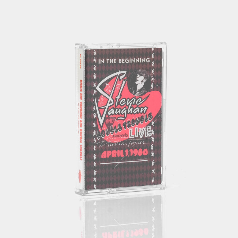 Stevie Ray Vaughan And Double Trouble - In The Beginning (1992) Cassette Tape