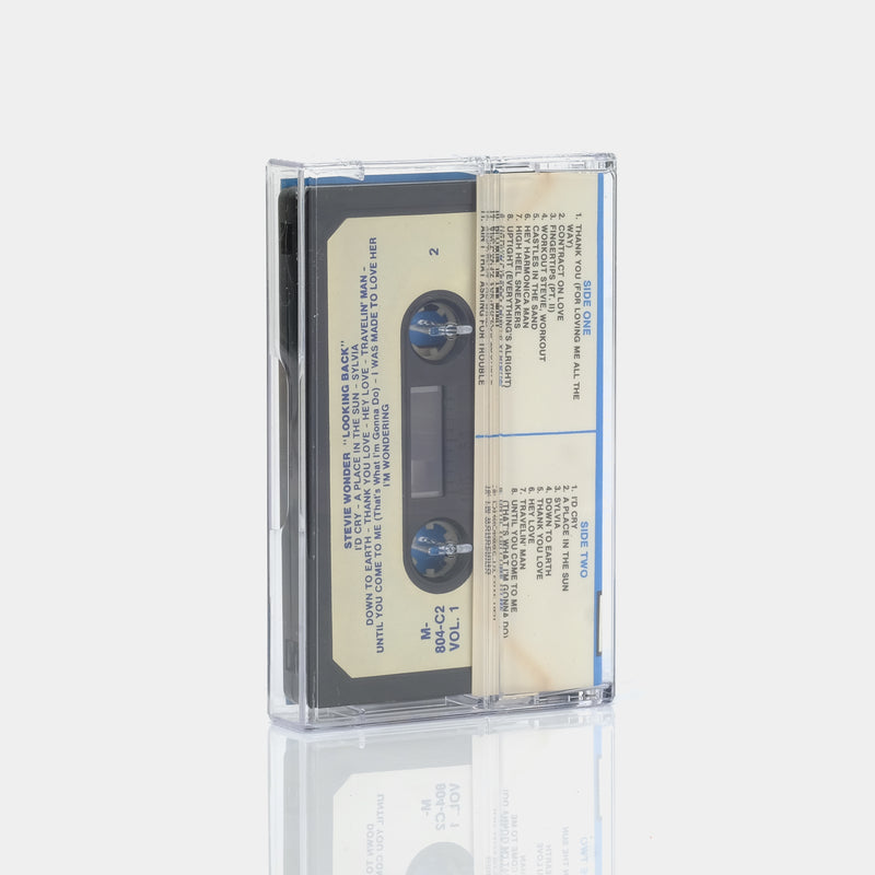 Stevie Wonder - Looking Back (1977) Cassette Tape