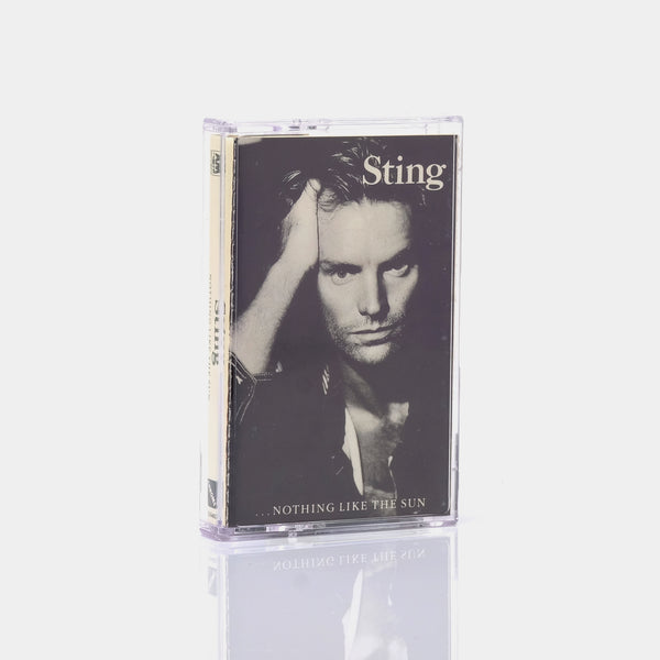 Sting - ...Nothing Like The Sun (1987) Cassette Tape