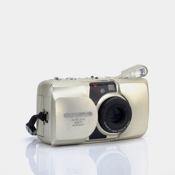 Olympus ∞ Infinity Stylus Zoom 70 35mm Compact Film Camera